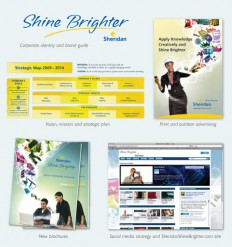 Sheridan College, Beakbane, new brand vision, innovative, print advertising
