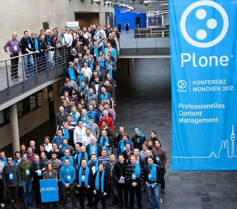 plone community at Plone Konferenz Munich, March 2nd 2012